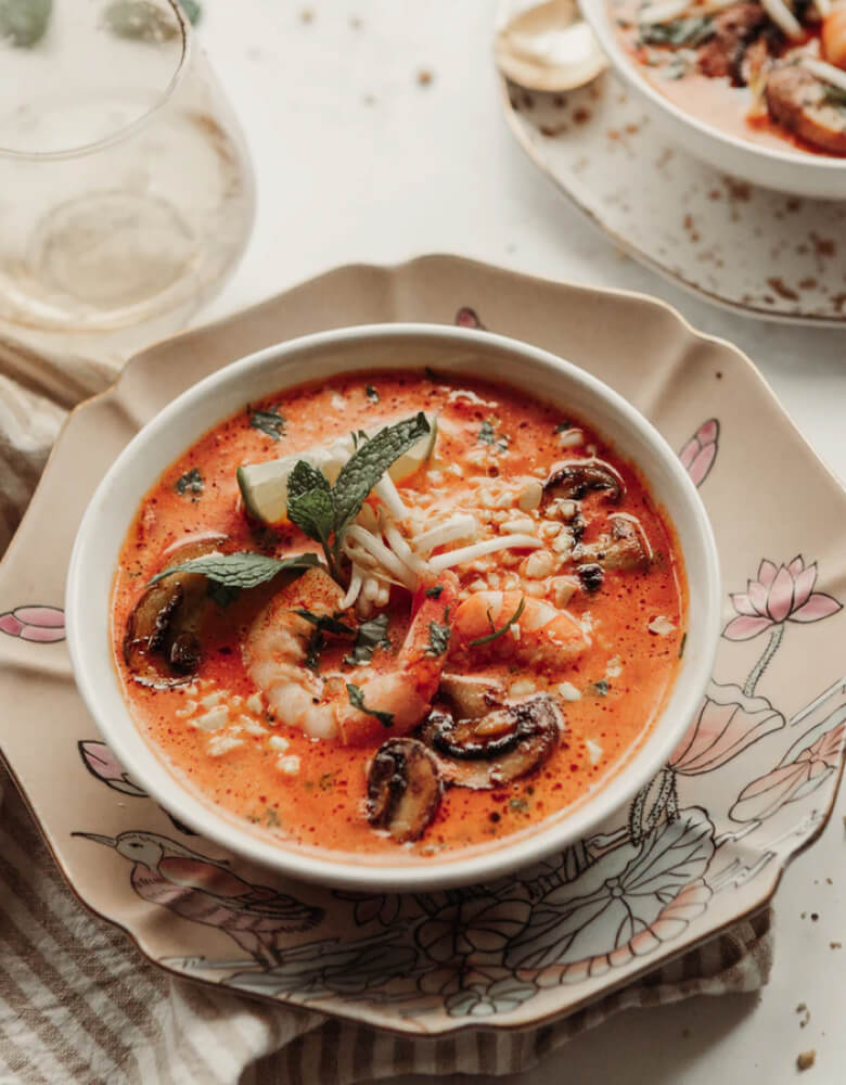 Shrimp Soup With Chili