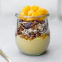 Sugar-Free Coconut Yogurt with Mango